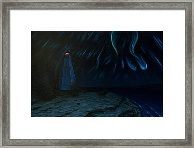 Northern Lights Tobermory Framed Print by Michael Marcotte