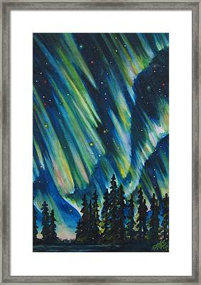 Northern Lights V Framed Print