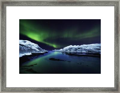 Northern Lights Framed Print by Wade Aiken