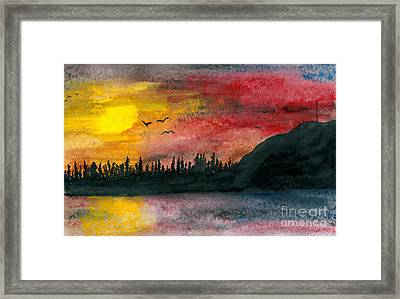 Northern Limits Framed Print