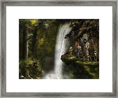 Northern Oz #46 Framed Print by Vjkelly Artwork