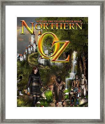 Northern Oz Cover Framed Print by Vjkelly Artwork