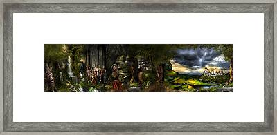 northern oz FULL PIC...43 Framed Print by Vjkelly Artwork