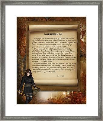 Northern Oz Intro 4 Framed Print