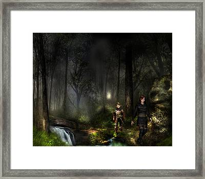 Northern Oz - Kristi And Wim Framed Print by Vjkelly Artwork
