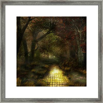Northern Oz The Woods Framed Print by Vjkelly Artwork