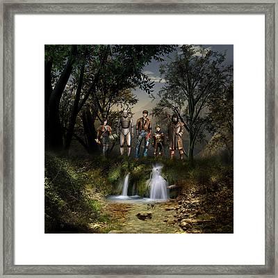 Northern Oz....40 Framed Print