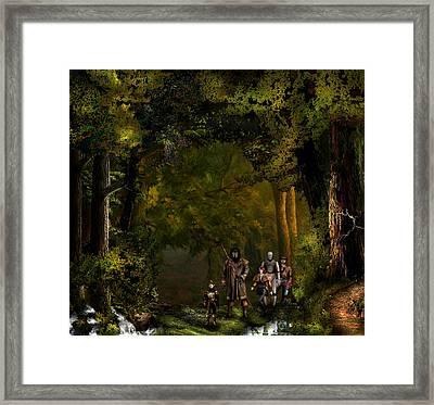 Northern Oz....41 Framed Print