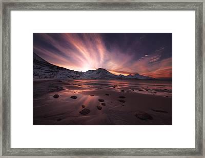 Northern Paradise Framed Print
