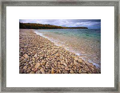 Northern Shores Framed Print