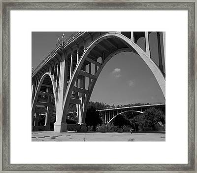 North View  Framed Print