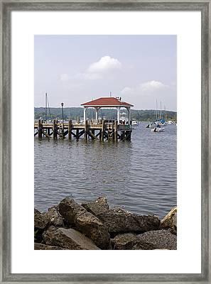 Northport Dock Framed Print
