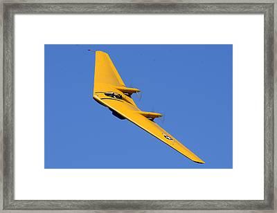 Northrop N9m-b Flying Wing Camarillo August 17 2013 Framed Print