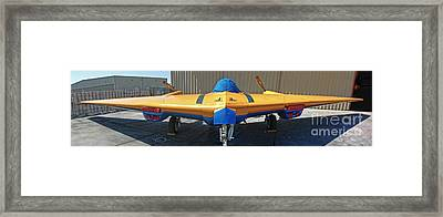 Northrop N9mb Flying Wing Framed Print by Gregory Dyer