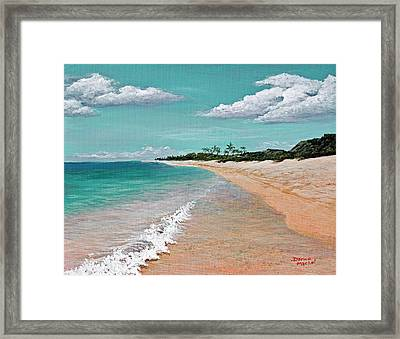 Northshore Oahu  Framed Print by Darice Machel McGuire