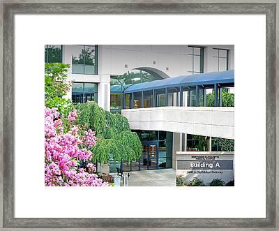 Northside Alpharetta Medical Campus A . First View Framed Print