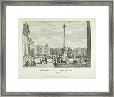 Northumberland House Framed Print