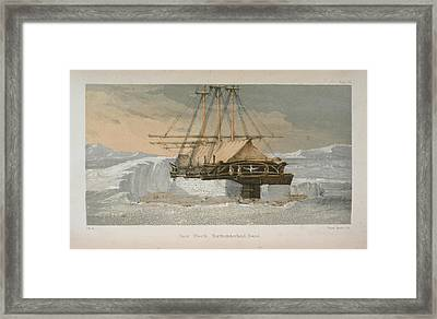 Northumberland Sound Framed Print by British Library