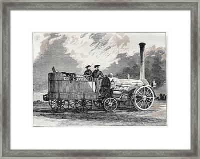 Northumbrian Locomotive Framed Print