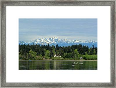 Northwest Living II Framed Print