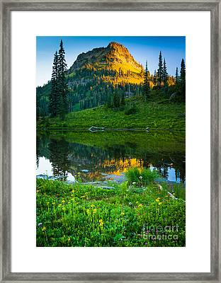 Northwest Sunrise Framed Print