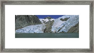Northwestern Glacier Kenai Fjords Alaska Framed Print