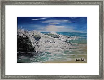 Northwind Framed Print by Gani Banacia