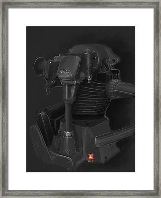 Norton Motor Framed Print