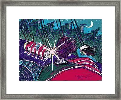 Norumbega Rockets Framed Print