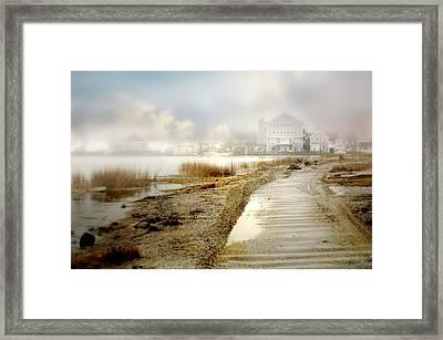 Monday's Fog Framed Print