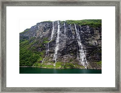 Norway, Geiranger Framed Print