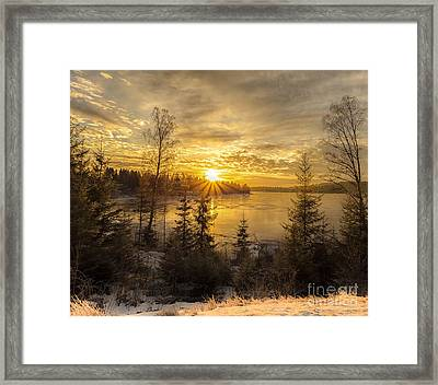 Norway Hedmark Framed Print