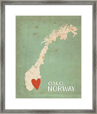 Norway Framed Print by Katie Doucette
