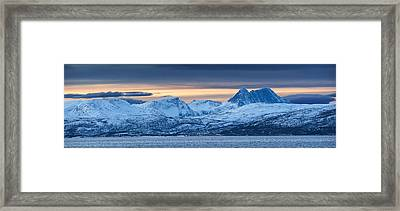 Norwegian Coast Framed Print