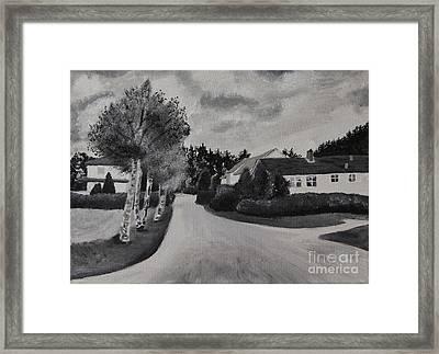 Norwegian Street Framed Print