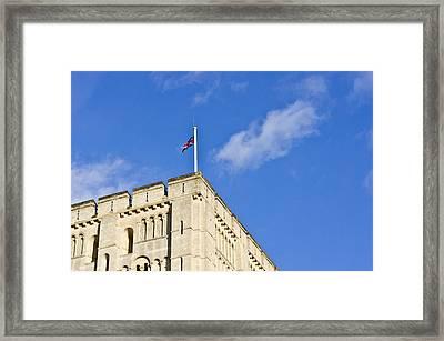 Norwich Castle Framed Print