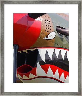 Nose Art I Framed Print