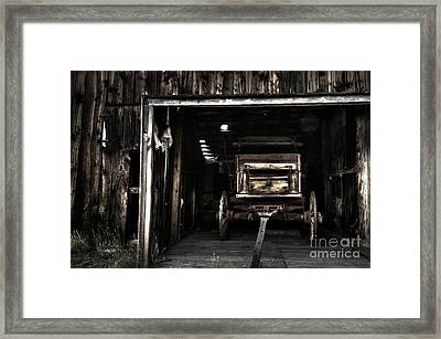 Nostalgia At Bannack Montana Framed Print by Bob Christopher