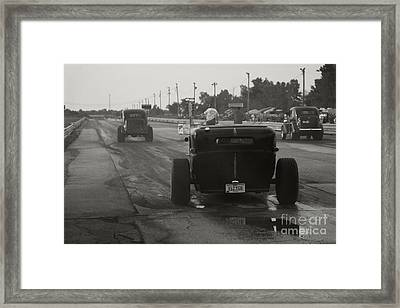 Nostalgia Drags Framed Print by Dennis Hedberg