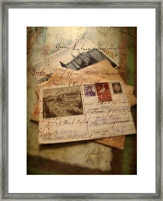 Nostalgia Framed Print by Jessica Jenney