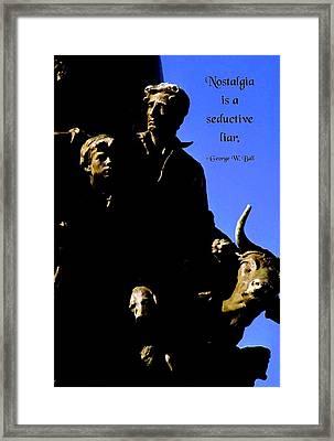 Nostalgia Framed Print by Mike Flynn