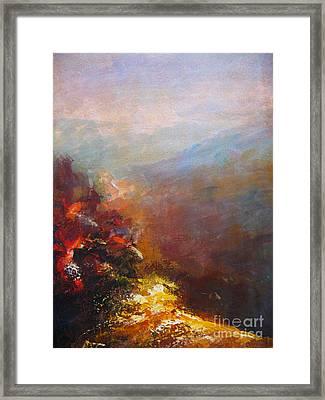 Nostalgic Autumn Framed Print