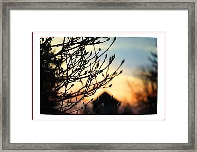 Nostalgic Evening  Framed Print by Sonali Gangane