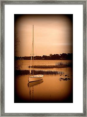 Framed Print featuring the photograph Nostalgic Summer by Laurie Perry