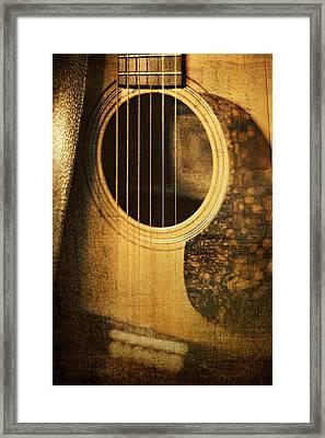 Nostalgic Tones Framed Print