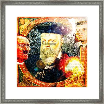 Nostradamus Framed Print by GANECH Graphics