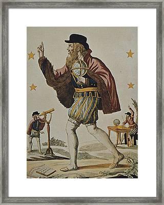 Nostradamus, Michel De Notre Dame Framed Print by Everett