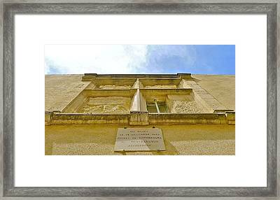 Nostradamus Started Framed Print by Dwight Pinkley