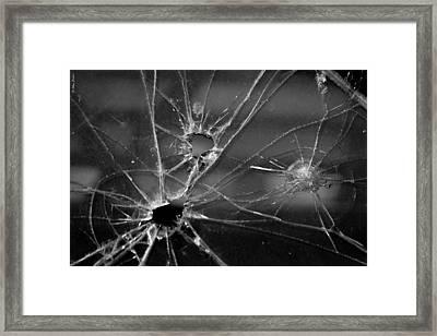 Not A Bullet-proof Framed Print