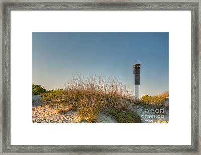 Not A Cloud In The Sky Framed Print